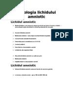 Curs OG - Patologia Amniotica