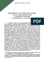 Beierwaltes - Eckhart Et Le Livre Des Causes
