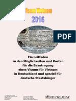 Visum Vietnam beantragen in Deutschland