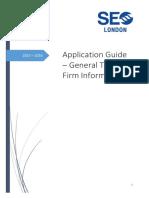 2015 - 2016 SEO Application Guide