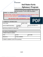 AMLN 2010 Diplomacy Program Application