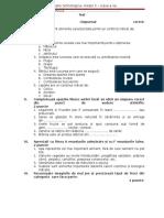 Test -Produse de Origine Vegetala Si Animala-partial