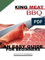 Smoking asdasMeat BBQ an Easy Guide for Beginners - Scott Casterson