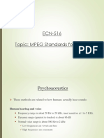 MPEG Standards for Audio