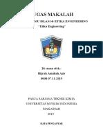 Tugas Makalah Etika Engineering
