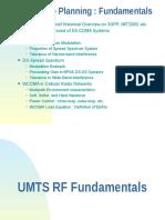 UMTS RF Fundamentals