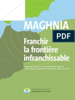 MAGHNIA. Franchir La Frontière. Infranchissable
