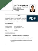 Curriculum Thalia rimaP