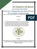 A Edificação Orgânica Das Igrejas