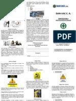 Triptico DAN-VAC C. a. - Ident y Notif de Riesgos - Mail