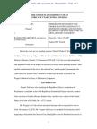 Memorandum Granting Motion to Dimiss, Wagner v. Cruz