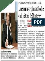 19-03-16 Lanzan mayor plan antibaches en la historia de Monterrey