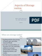 Technical Aspects of Storage Tank Prevention