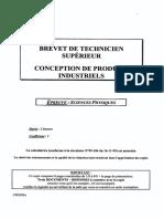 BTS CPI Sciences Physiques 2006