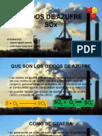 Oxidos de Azufre (1)