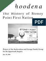 Aazhoodena History.stoney.point