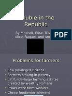 Trouble in Republic classa
