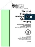 Electrical Resistance Tomography for Subsurface Imaging