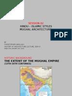 Hindu-islamic- Mughal Architecture- copy.pptx