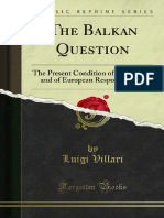 The Balkan Question