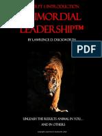Leadership1 Introduction PrimordialLeadershipFINAL