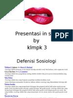 Presentation SOS