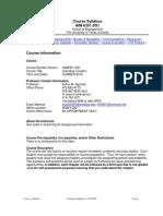 UT Dallas Syllabus for aim6351.0g1.10u taught by Arthur Agulnek (axa022000)