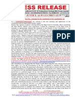 20160320-PRESS RELEASE Mr G. H. Schorel-Hlavka ISSUE -Senator Day, Contempt for the Constitution & the Constitution-etc