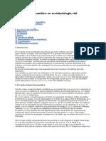 El Neumático en Accidentología Vial