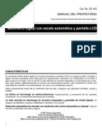 Radio Shack Multimeter Manual 22-163