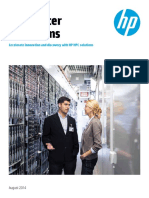 HP Cluster Platforms_ Accelerate Innovation and Discovery With HP HPC Solutions - Family Data Sheet
