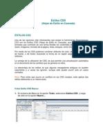 CSS Dreamweaver