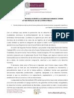 Comunicado Del Congreso del Estado de México