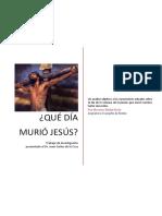 Que Día Murió Jesus?