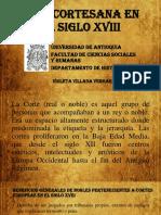 Unidad 4 Vida Cortesana en El Siglo XVIII - Violeta Villada