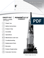 BISSELL User Guide Powerforce Compact Vacuum 23T7V