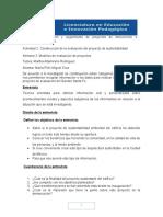 Mód 11 s 3 u 1 Actividad 2 Construcción de La Evaluación Del Proyecto de Sustentabilidad