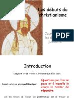 6e H8 Sance Les Dbuts Du Christianisme 2010 11