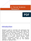 Issues in Social Science Reseaech-revised