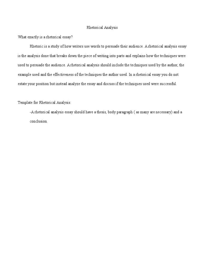 Rhetorical analysis study guide essays rhetoric maxwellsz