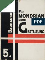 Mondrian Piet Neue Gestaltung