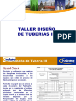 Taller de Diseño de Tuberias III