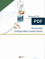 Manual CTO de Medicina y Cirugía - 9º Edición - 2014 - Anestesiologia & Oncología Médica y Paciente Terminal