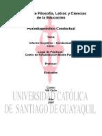 analisis funcional conductual
