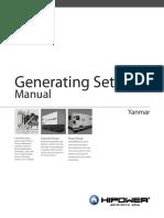 HIPOWER Yanmar Generators Manual