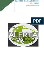 El Cambio Climático en El Perú.