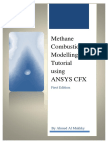 Combustion Modelling Using Ansys Cfx