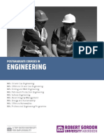 POSTGRADUATE COURSES IN ENGINEERING