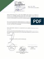 Malzon Urbina solicita palabra para justificar exclusión de Keiko Fujimori de Elecciones Generales 2016