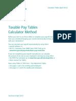Calc Tables12 13